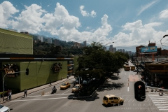 Medellín city of Colombia.