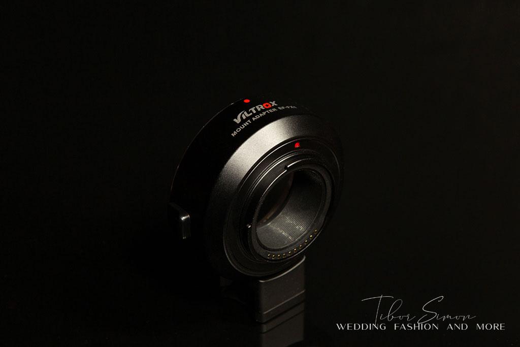 Viltrox EF-FX1 Fuji - Canon adapter teszt.