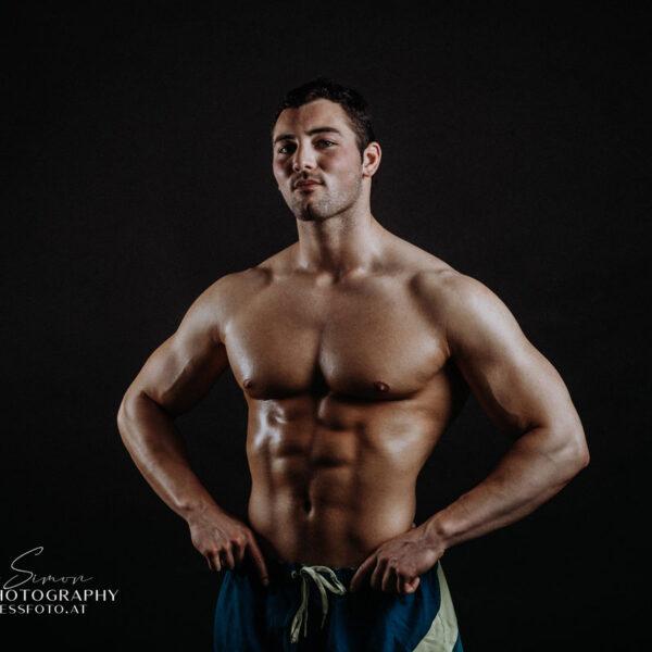 Fitness fotózás és body building fotózás.