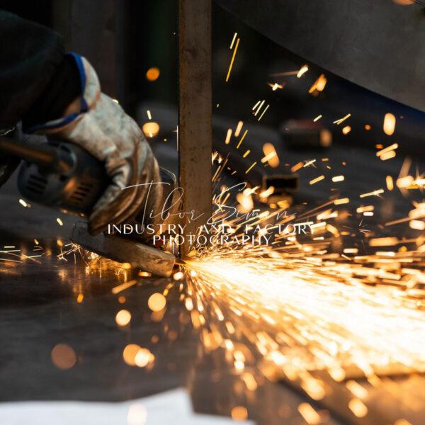Gyárak és ipari területek fotózása
