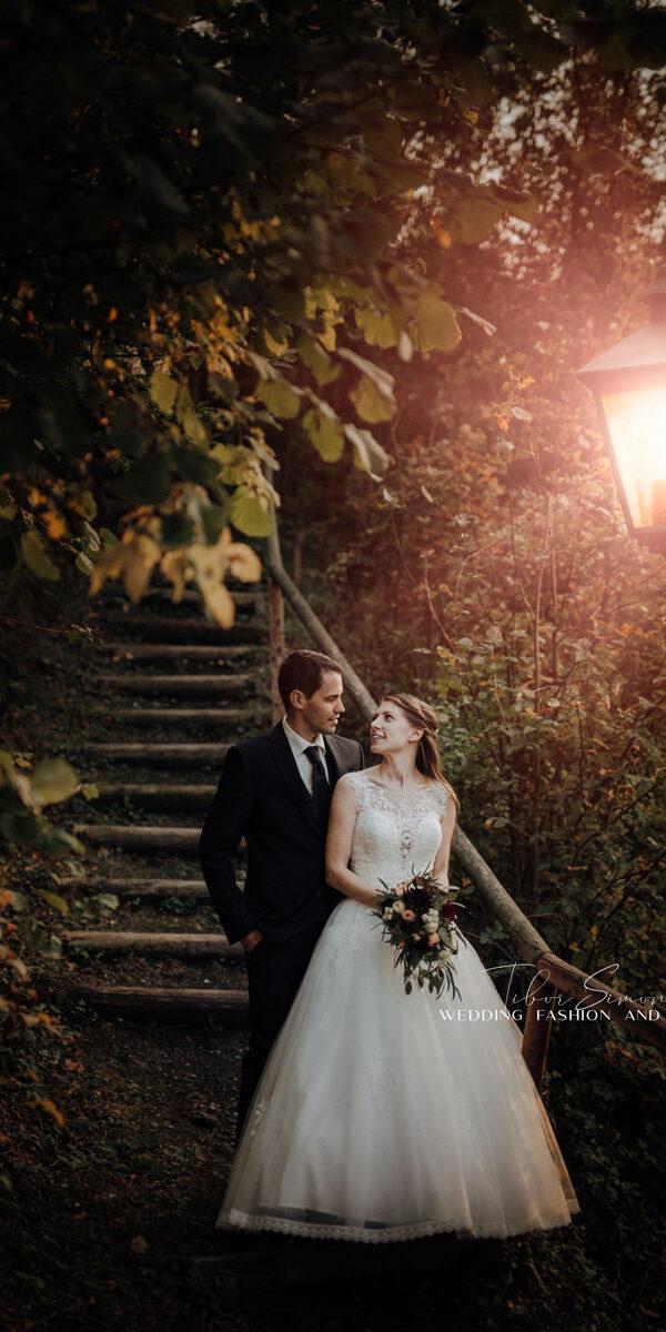 Kreatív esküvői fotózás.